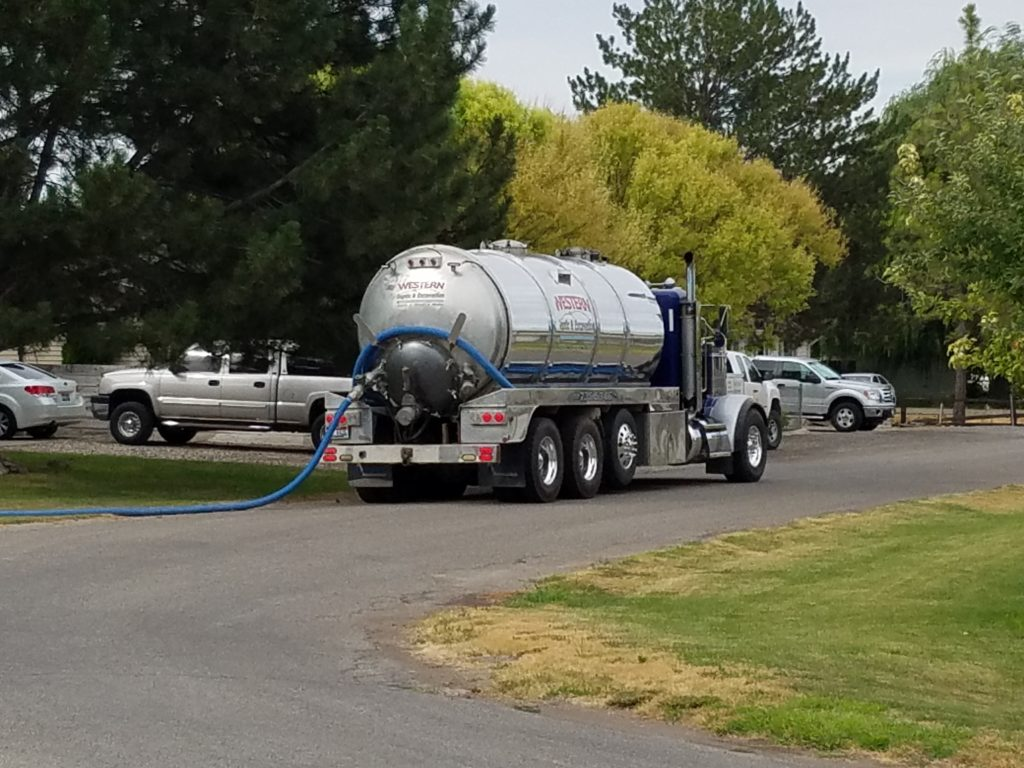 Septic tank cleaning in Twin Falls