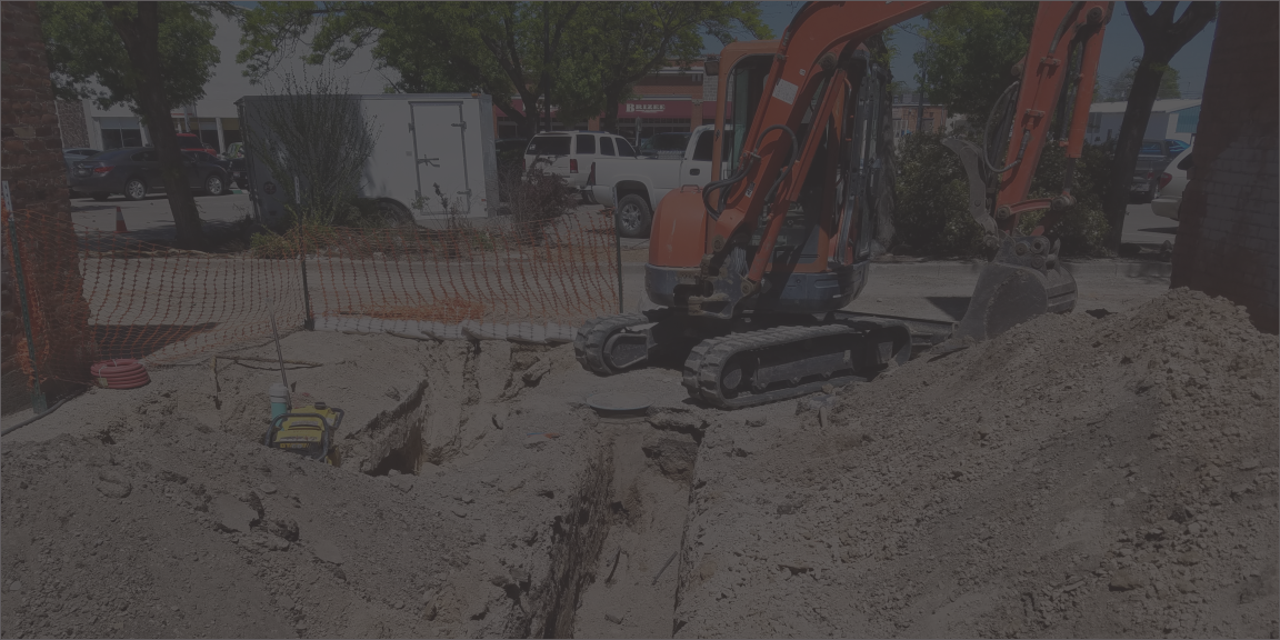 water pipe water line water service repair replace install put in a new water line Twin Falls
